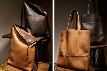 新作【KUDU】バッグ2種、販売開始しました!