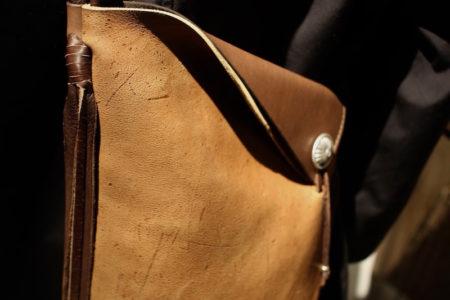 QUATTRO LEATHER shoulder bag[GAUCHO]A
