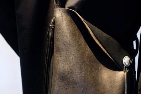 QUATTRO LEATHER shoulder bag[CABIN]
