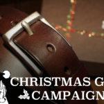 今年のクリスマス、一生モノのレザーベルトを贈りませんか?