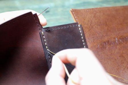 久々にあの贅沢バッグを製作しています